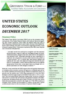 Icon of Economic Outlook - December 2017