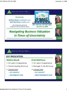 Icon of 2020 GYF CPE Day - Valuation in Uncertainty (Slides)