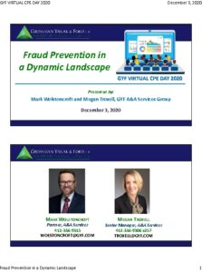 Icon of 2020 GYF CPE Day - Fraud Prevention (Slides)