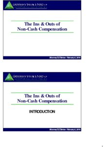 Icon of CLE-Slides Non-Cash Compensation