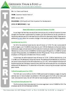Icon of Tax Alert 1-18 Payroll