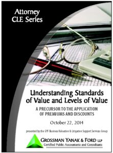 Icon of CLE-Book Standards and Levels of Value