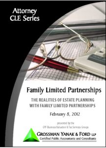 Icon of CLE-Book FLPs for Estate Planning