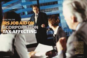 IRS, job aid, s corporation, GYF, Grossman Yanak & Ford LLP, Pittsburgh, CPAs
