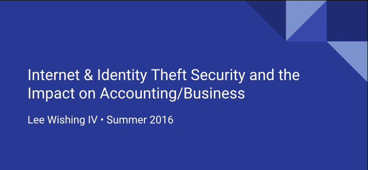 Grossman Yanak & Ford LLP, GYF, CPAs, PIttsburgh, Internet, identity theft, cybersecurity