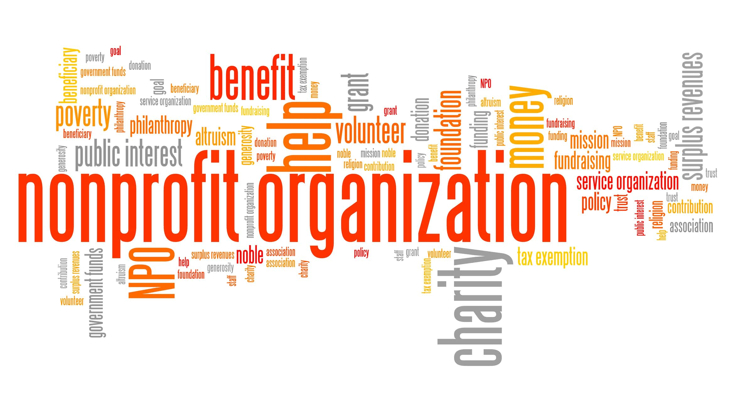 my non profit organization Nonprofit organizations provide a public or social benefit created to fulfill a specific purpose, such as providing meals to the local homeless or representing the interests of people who perform the same profession, they are not operated as private profit-making enterprises.