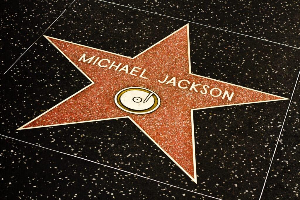 Michael Jackson's Star